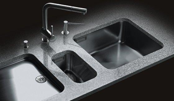 Wasbak Keuken Gamma : Onderbouwbakken RVS